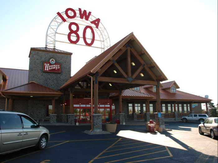 12. The world's largest truck stop