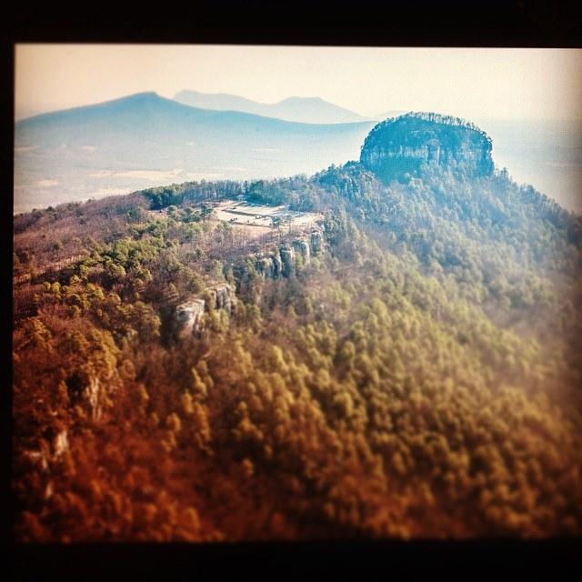 7. Colorful Pilot Mountain