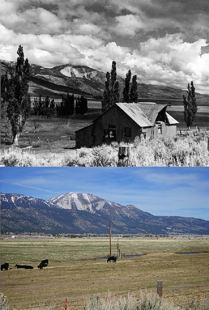 2. Washoe Valley Barn - 1940s and Today