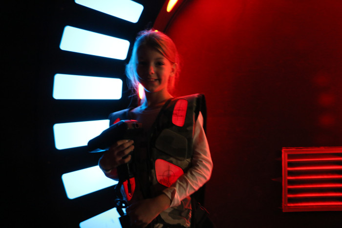 3. Try laser tag!