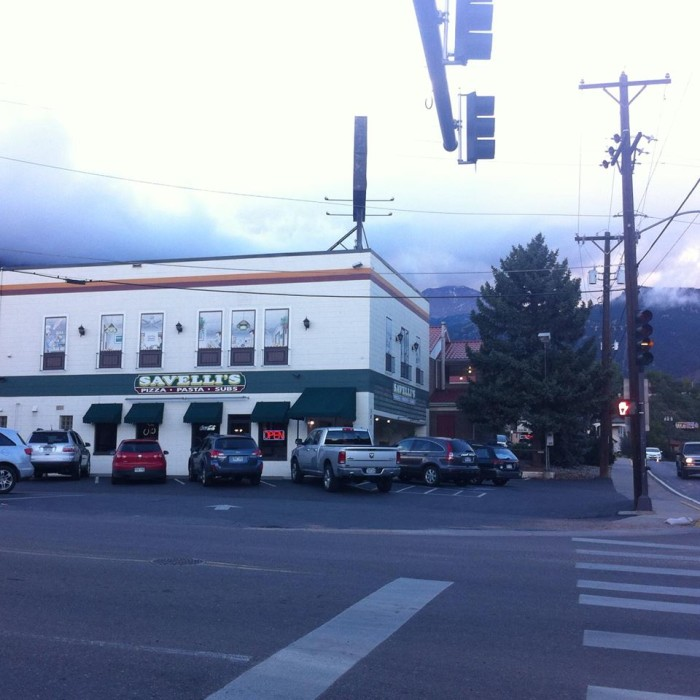 7. Savelli's Pizza, Pasta, & Subs (Manitou Springs)