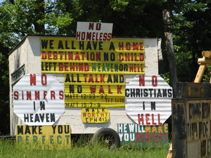 """13. You're ready to feel the spirit. Over half of the population considers themselves """"very religious"""" and this is the Bible Belt after all, so it's safe to say that religion is a huge part of life in Mississippi."""