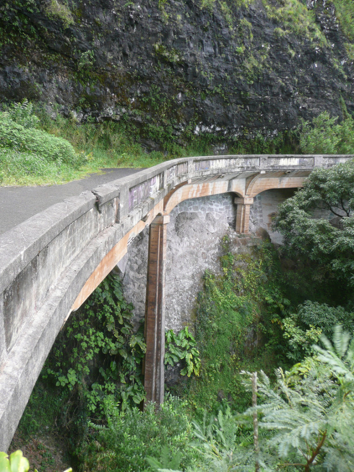 14) Would you trust this old highway bridge?
