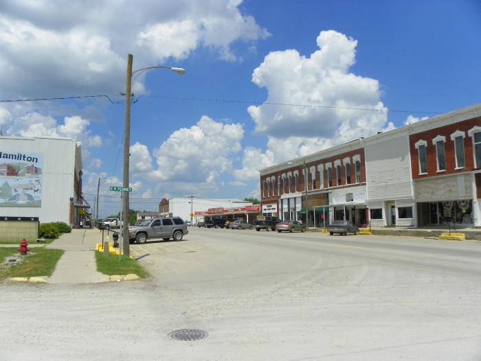 14. Hamilton, Population, 1,731