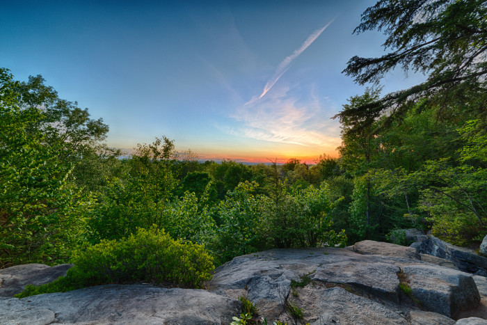 1. Ledges Overlook (Cuyahoga Valley National Park)