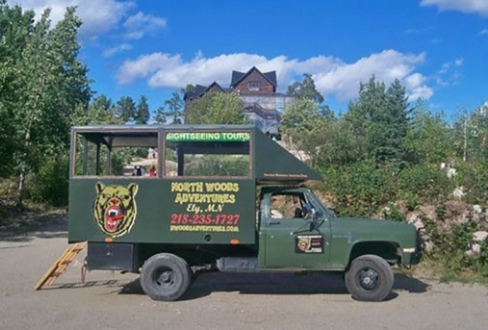 8. Safari Style Off-Roading Tour with North Woods Adventures