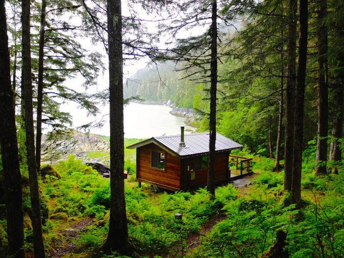 9) Berner's Bay Cabin