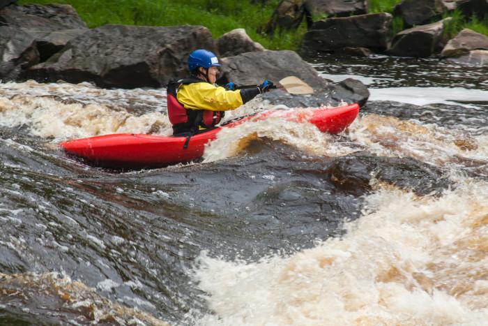 2. Whitewater Rafting/Kayaking