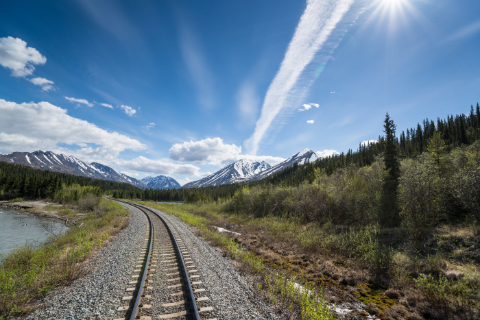 2) Ride the Alaskan Railroad
