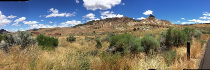 3) Oregon Desert