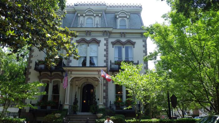 4) Hamilton-Turner Inn- 330 Abercorn St, Savannah, GA 31401