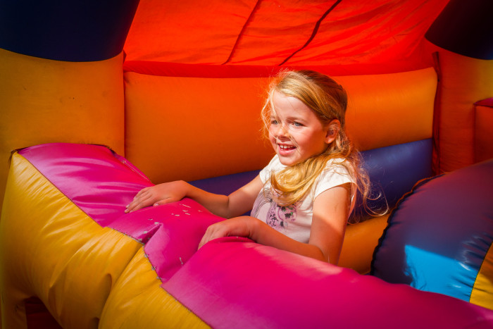 15. Get the children, load them in the car, and head to an indoor fun park for a day of excitement.
