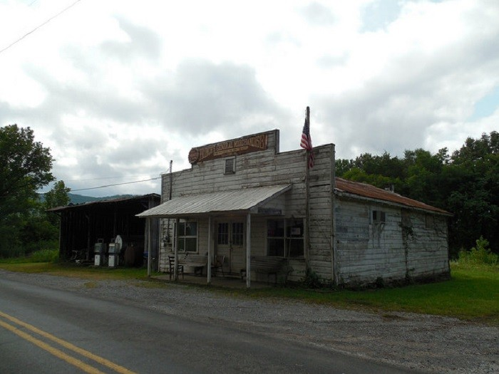 10. Prince's General Merchandise is located in Estillfork, Alabama. It closed during the summer of 2001.