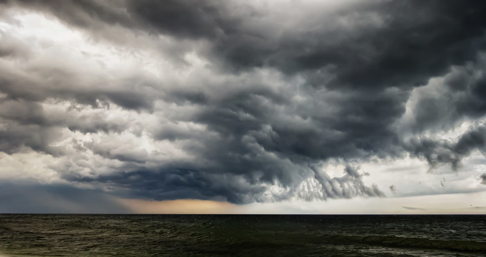 8. Ominous Clouds Over Seaside Heights