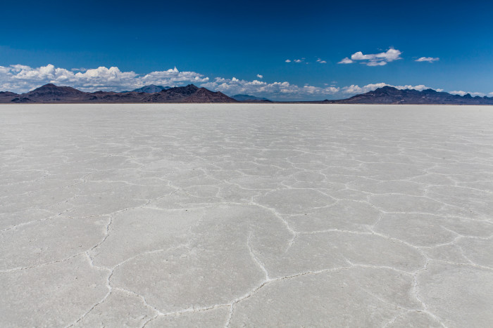12) Bonneville Salt Flats