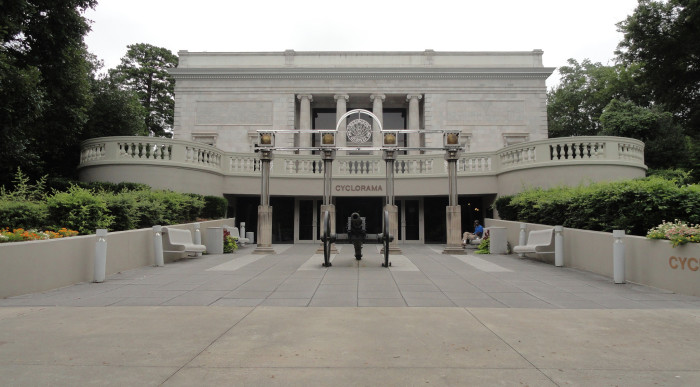 6) Atlanta Cyclorama & Civil War Museum- Grant Park, 800 Cherokee Ave SE, Atlanta, GA 30315