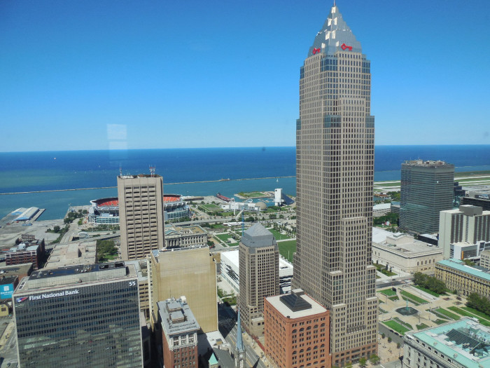 2. Terminal Tower Observation Deck (Cleveland)