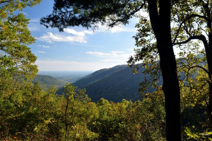 11. Bryon Reece Trail, Blood Mountain
