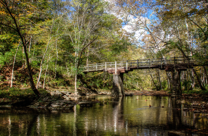 6. Clifton Gorge Trail (John Bryan State Park)