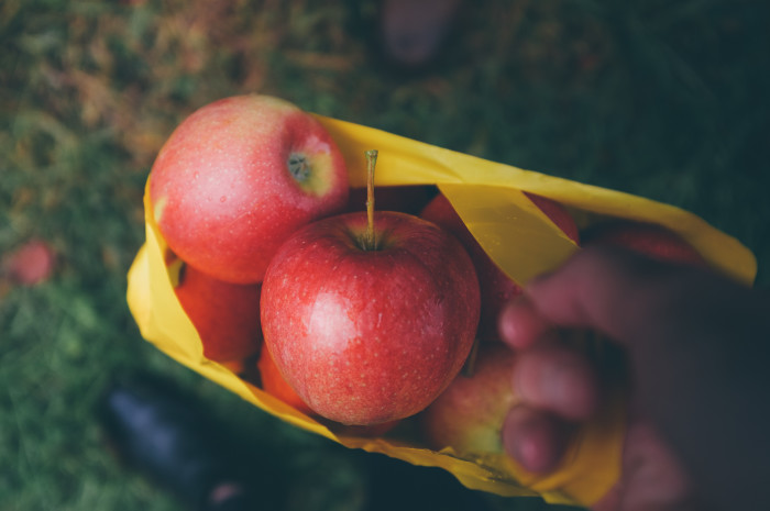 17. Apple picking is another couples activity that you hopefully idealize, because it's pretty much inevitable.
