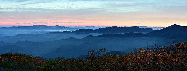 11. Blue Ridge Mountains