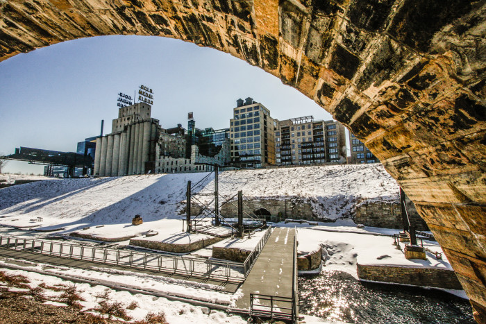 4. The Stone Arch Bridge has so many views and angles that you can find a new shot every time.