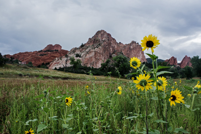 3.) Garden of the Gods (Colorado Springs)