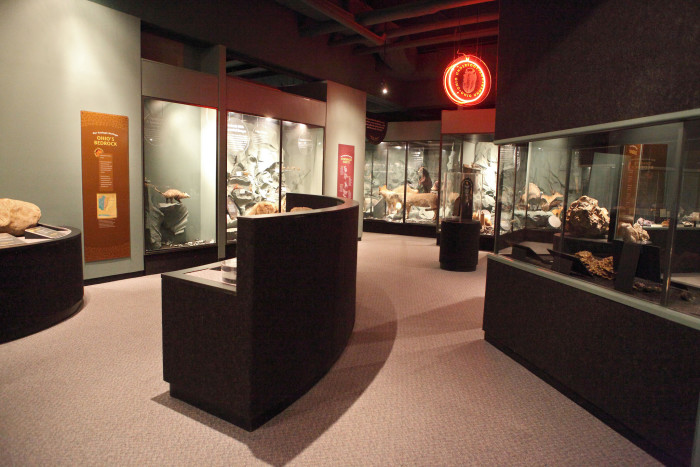 12) Brush up on your history at the Ohio History Center.