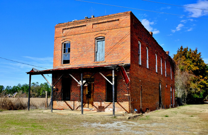 1. Raines Station in rural Crisp County, GA