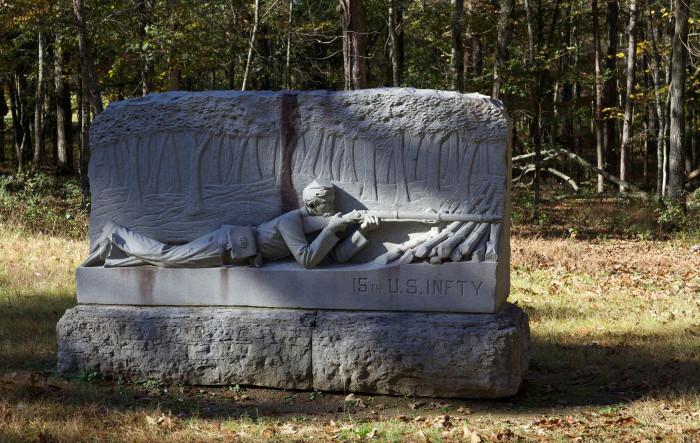 5) Chickamauga Battlesite-  3370 LaFayette Road, Fort Oglethorpe, GA 30742.
