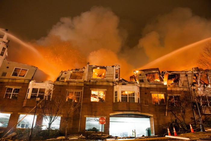5. Avalon Complex Five Alarm Fire, Edgewater