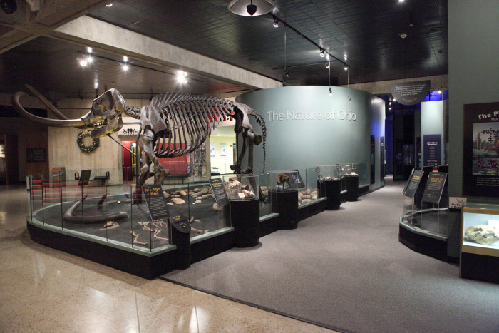 5. Brush up on your history at the Ohio History Center.
