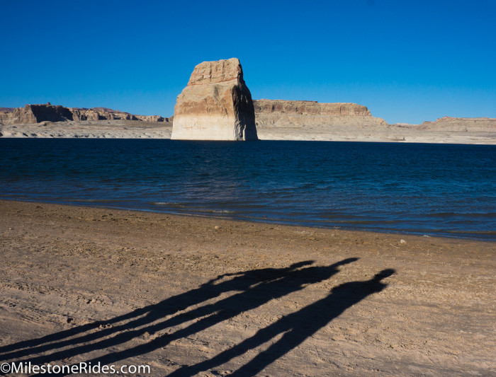 11. Another view of beach area at Lake Powell.