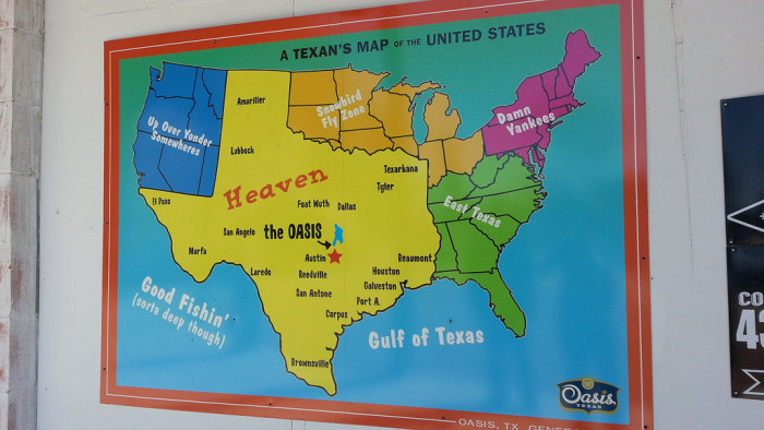12) The REAL map of the U.S.