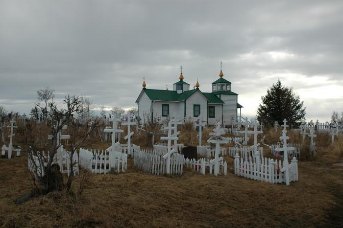 5) Ninilchik Church and Cemetery