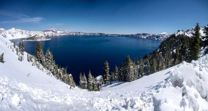 2) Crater Lake