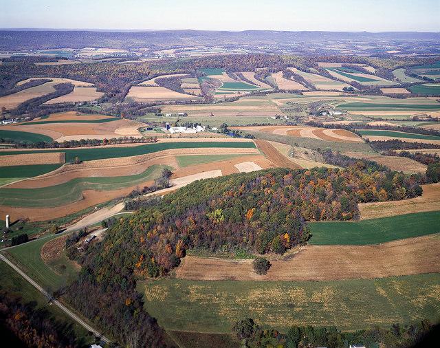 3. Pennsylvania farmlands