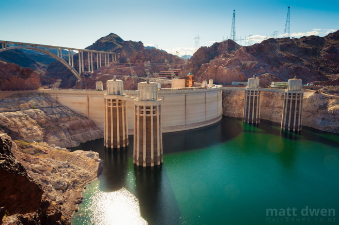 8. And here is what the dam looks like today.