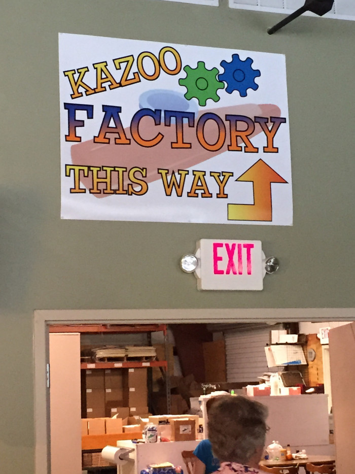 13. Try something fun and wacky...go to the Kazoo Factory!