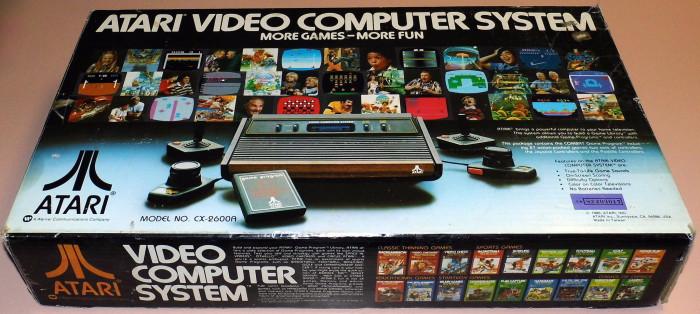 4) Atari Video Game System