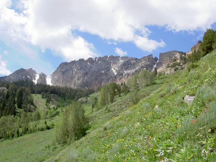 1) Deseret Peak