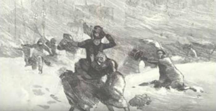 """2. 1888 """"Children's Blizzard"""""""