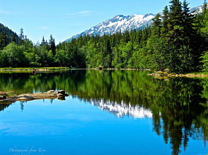 7) Dewey Lake
