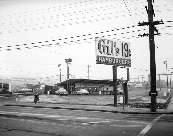 5. You could enjoy a mouthwatering burger here in West Seattle for only 19 cents back in 1955!