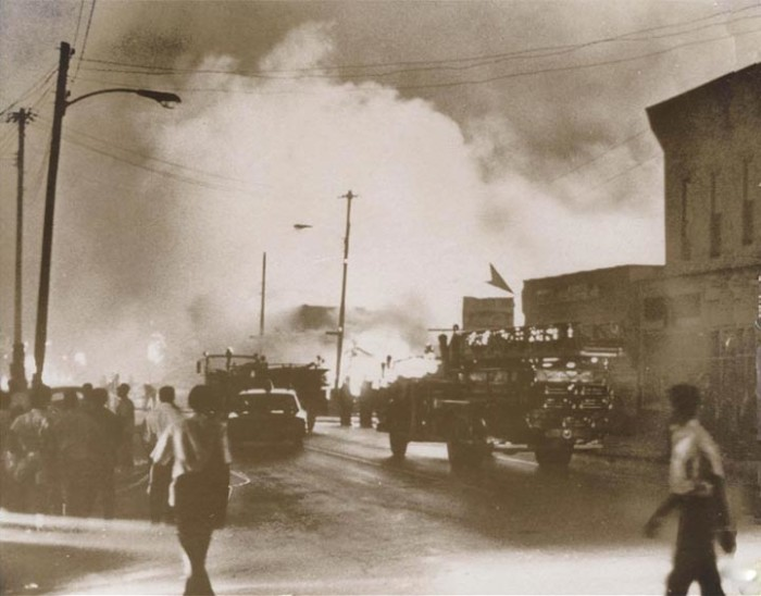 The 1966, 1968, and 1969 race riots in Omaha