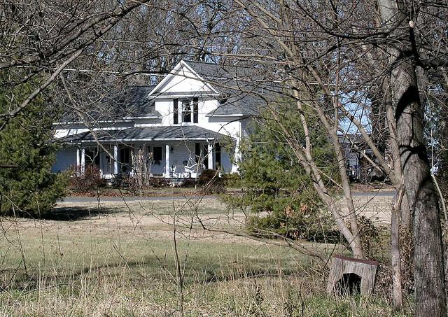 2. Haunted farmhouse in Yadkinville