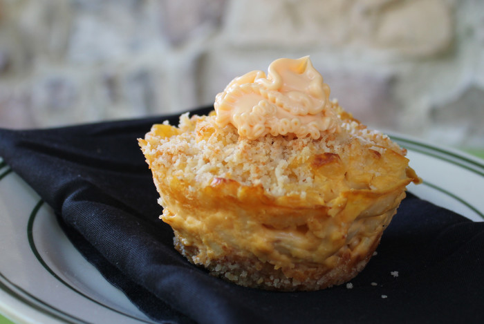 7. Mac and Cheese Cupcake - A handheld way to enjoy our favorite comfort food. This will surely warm some hearts.