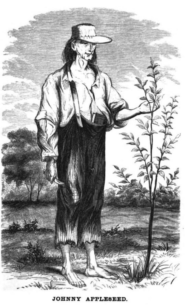 2. Johnny Appleseed