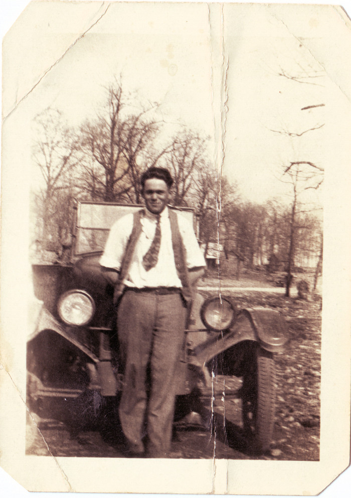 2. Guy and His Car, Late 1920's