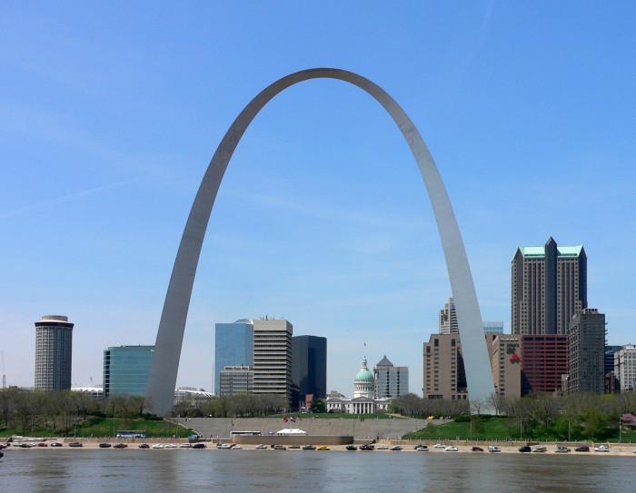 2. The Gateway Arch, St. Louis
